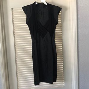 French Connection slim mini dress